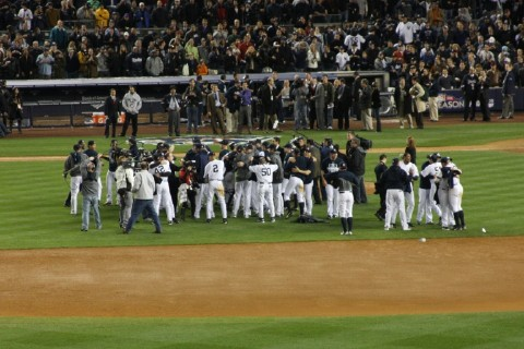 2009 ALCS Yankee Celebration
