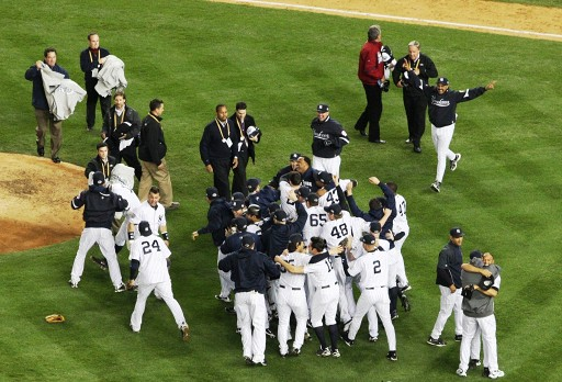 2009 World Series celebration