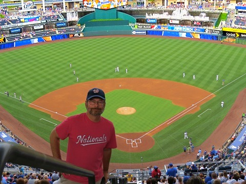 Andrew at Kauffman Stadium upper deck