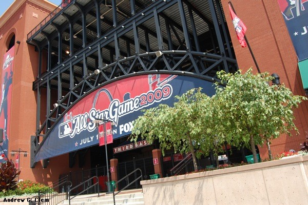 Busch Stadium southwest gate
