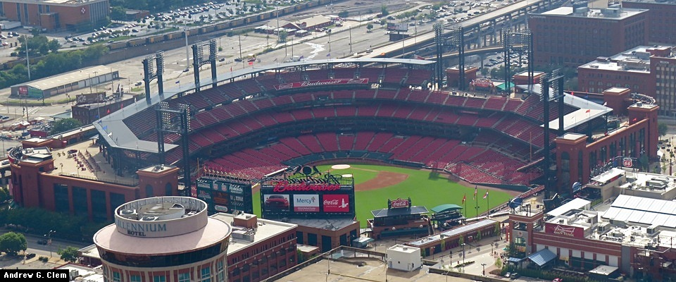 BuschStadium III from arch pan