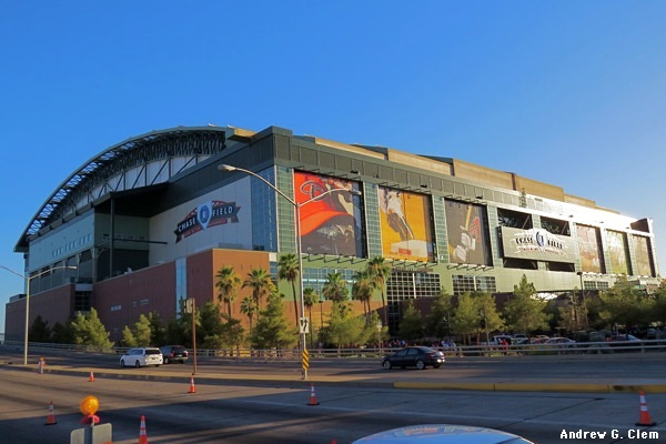 Chase Field exterior NE