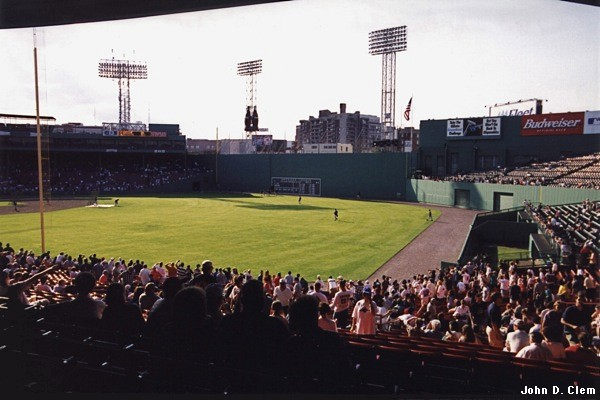 Fenway Park from RF corner