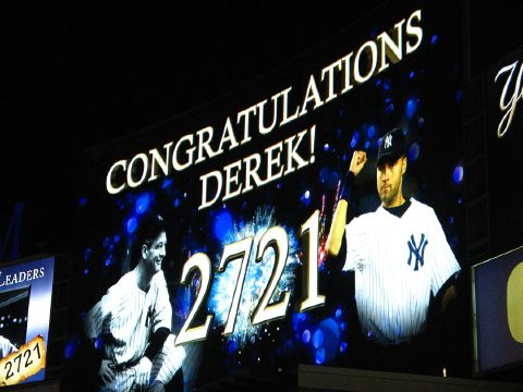 Jeter, Gehrig 2721 hits