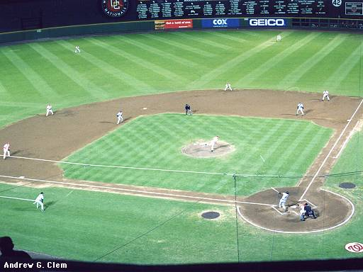 Julio Franco HR at RFK