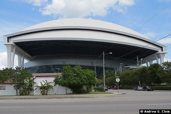 Marlins Park exterior west