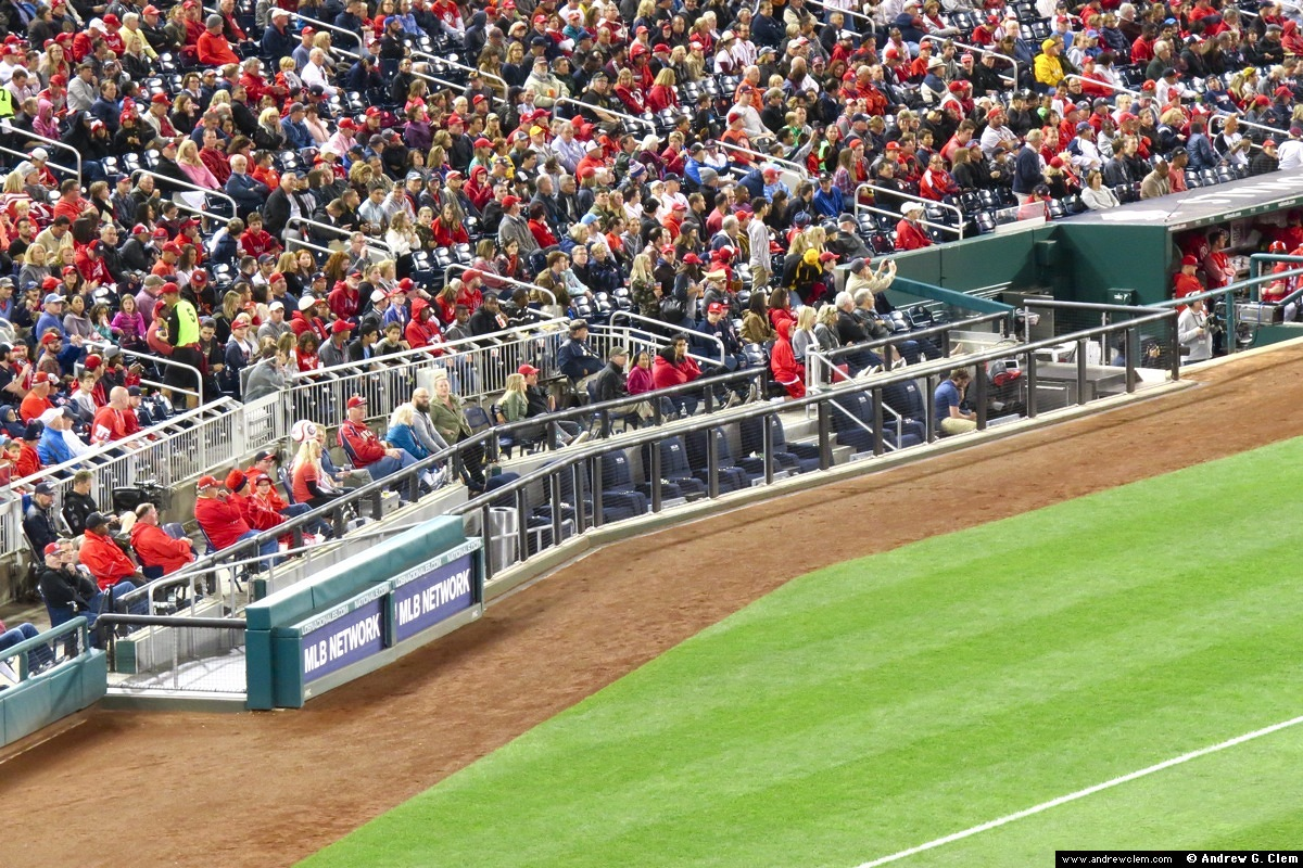 Nationals Park MGM National Harbor Dugout Club seats