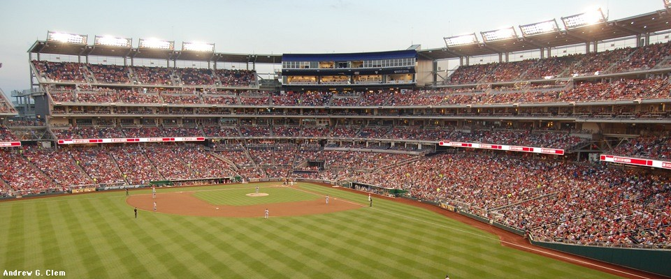 Nationals Park full panorama