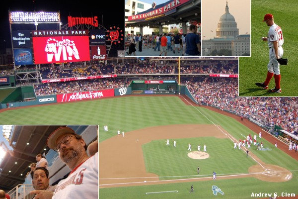 Nationals Park montage 20 June 2012