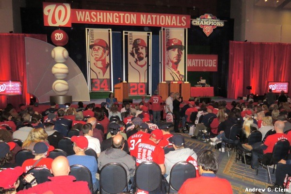 NatsFest - stage, crowd