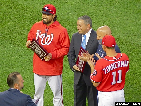Anthony Rendon 2017 Player of the Year Award
