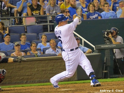Billy Butler home run
