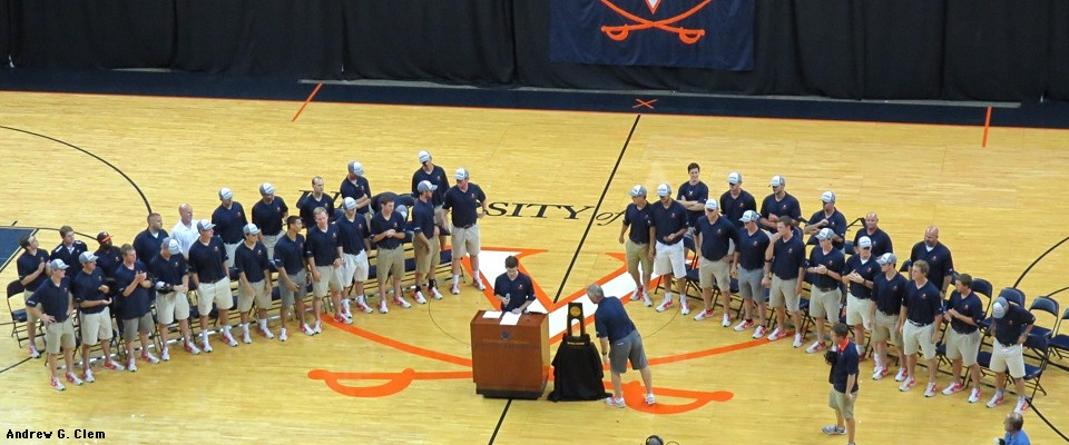 Univ. of Virginia 2015 baseball team
