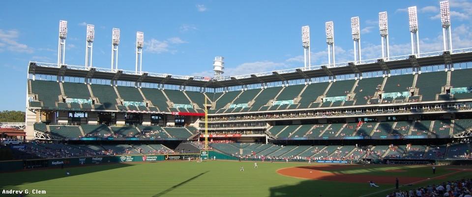 Clems Baseball Progressive Field Jacobs Field