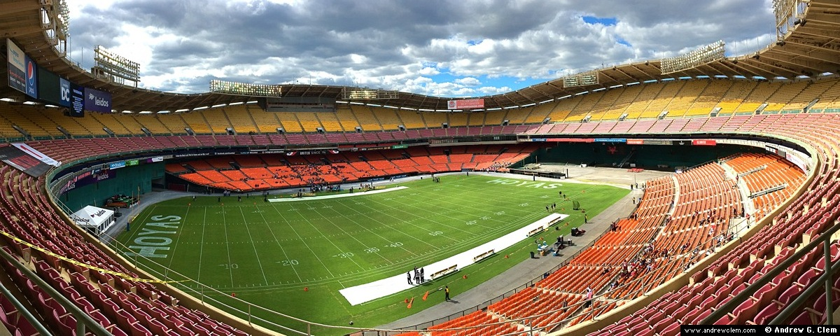 RFK Stadium east pan