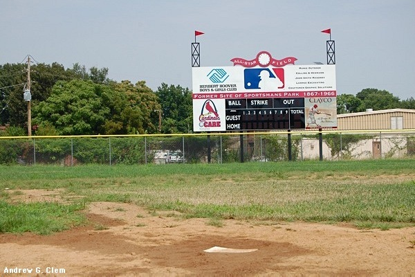 Sportsmans Park ball field