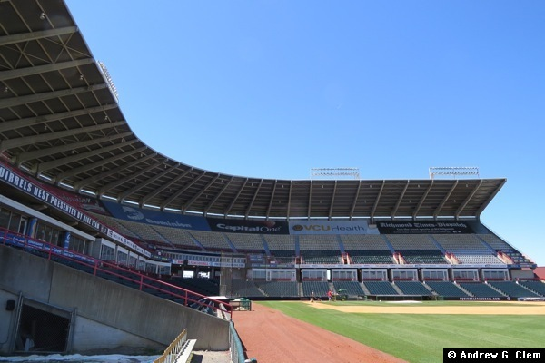 The Diamond ground view