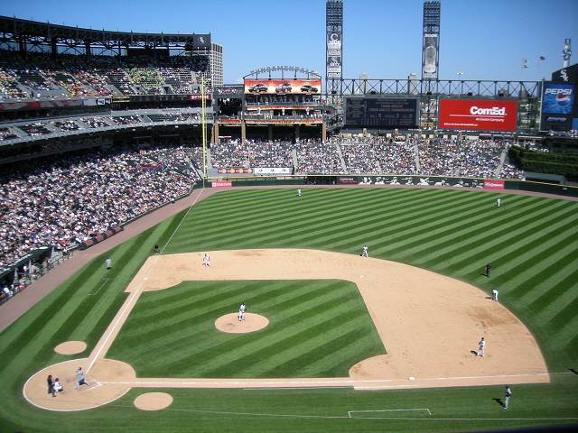 U.S. Cellular Field from UD 1st base