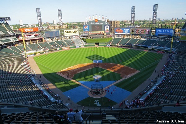 Clems Baseball Guaranteed Rate Field US Cellular Field - Cellular field seating