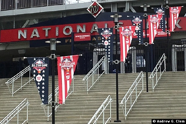 Nationals Park 1st base gate All Star Game