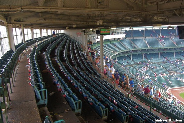 Wrigley Field top upper deck