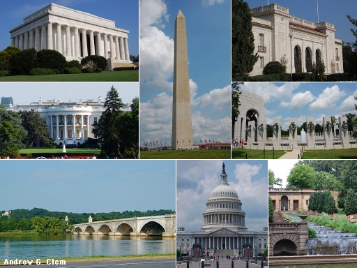 Washington, DC montage