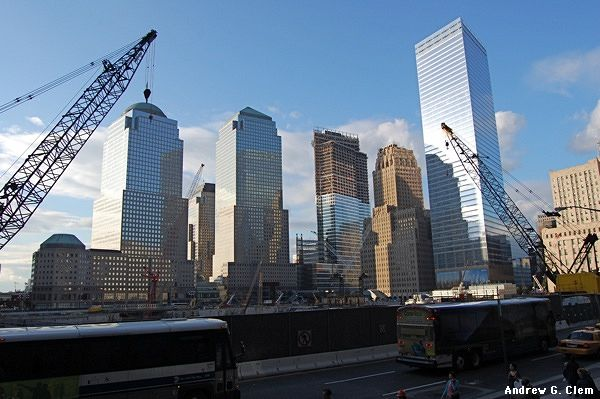 WTC Ground Zero construction