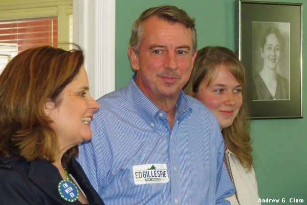 Ed Gillespie, family
