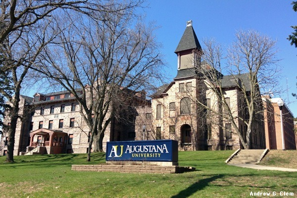 Augustana University East Hall, Old Main Building.