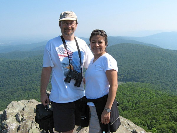 Andrew & Jacqueline at Humpback Rocks