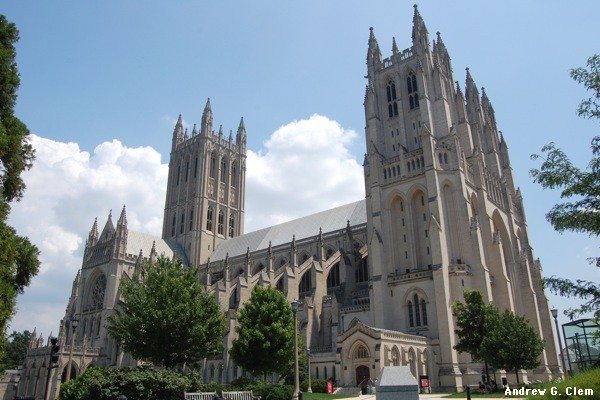 National Cathedral exterior NW