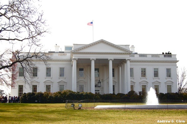 White House, south